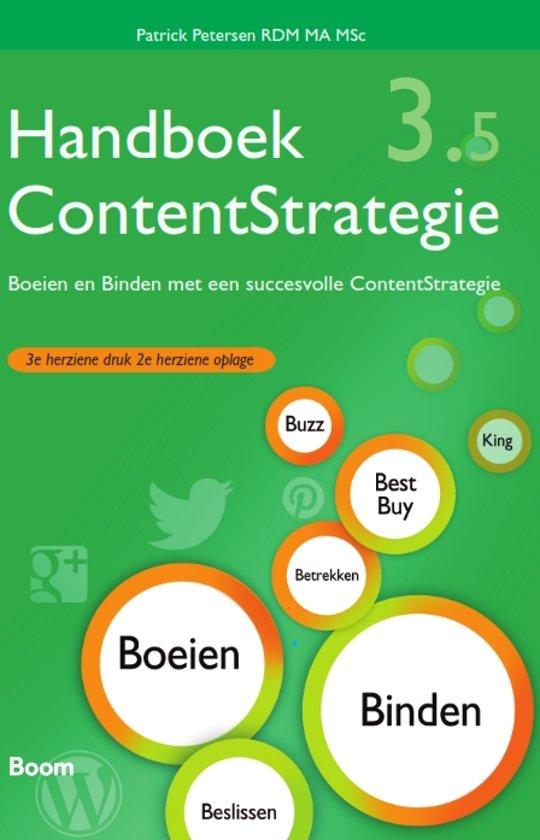 Handboek Content Strategie 3.5 boek